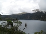 First View of Lake Cuicocha