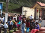 Palm Sunday in small town South America