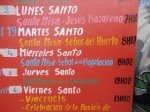 Cayambe Cathedral Holy Week Schedule