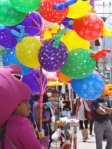 Barney and Baloons, Cotacachi Expo 2012