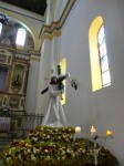 Jesus Procesional Statue Cotacachi Cathedral