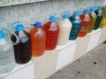 Gallons of cheap sugercane alcohol. Headache anyone?