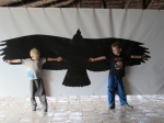 Wing span of the Andean Condor