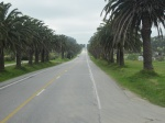 Hwy from Colonia to Montevideo, Uruguay